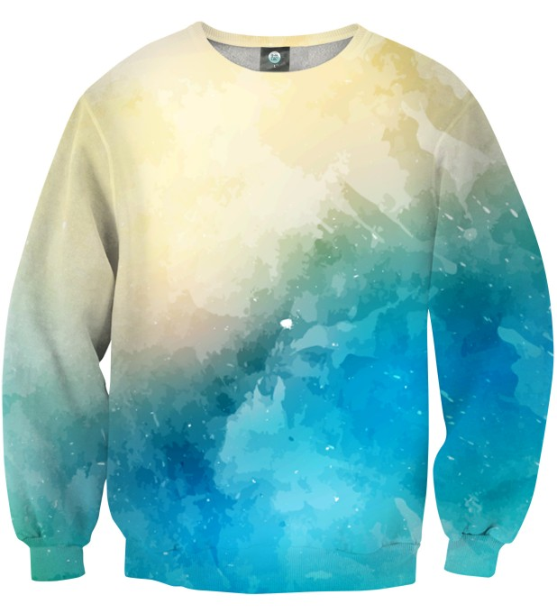 SEASIDE V2 WATERCOLOR SWEATSHIRT Thumbnail 1