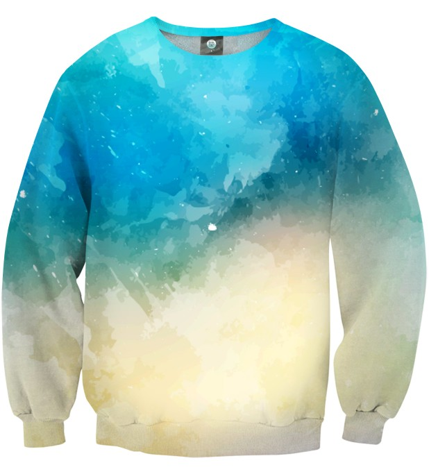 SEASIDE WATERCOLOR SWEATSHIRT Thumbnail 1
