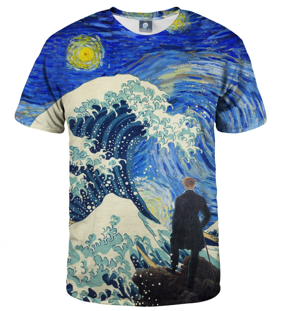 Aloha From Deer, STARRY WANDERER OF KANAGAWA T-SHIRT Image $i