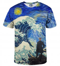 Aloha From Deer, STARRY WANDERER OF KANAGAWA T-SHIRT Thumbnail $i