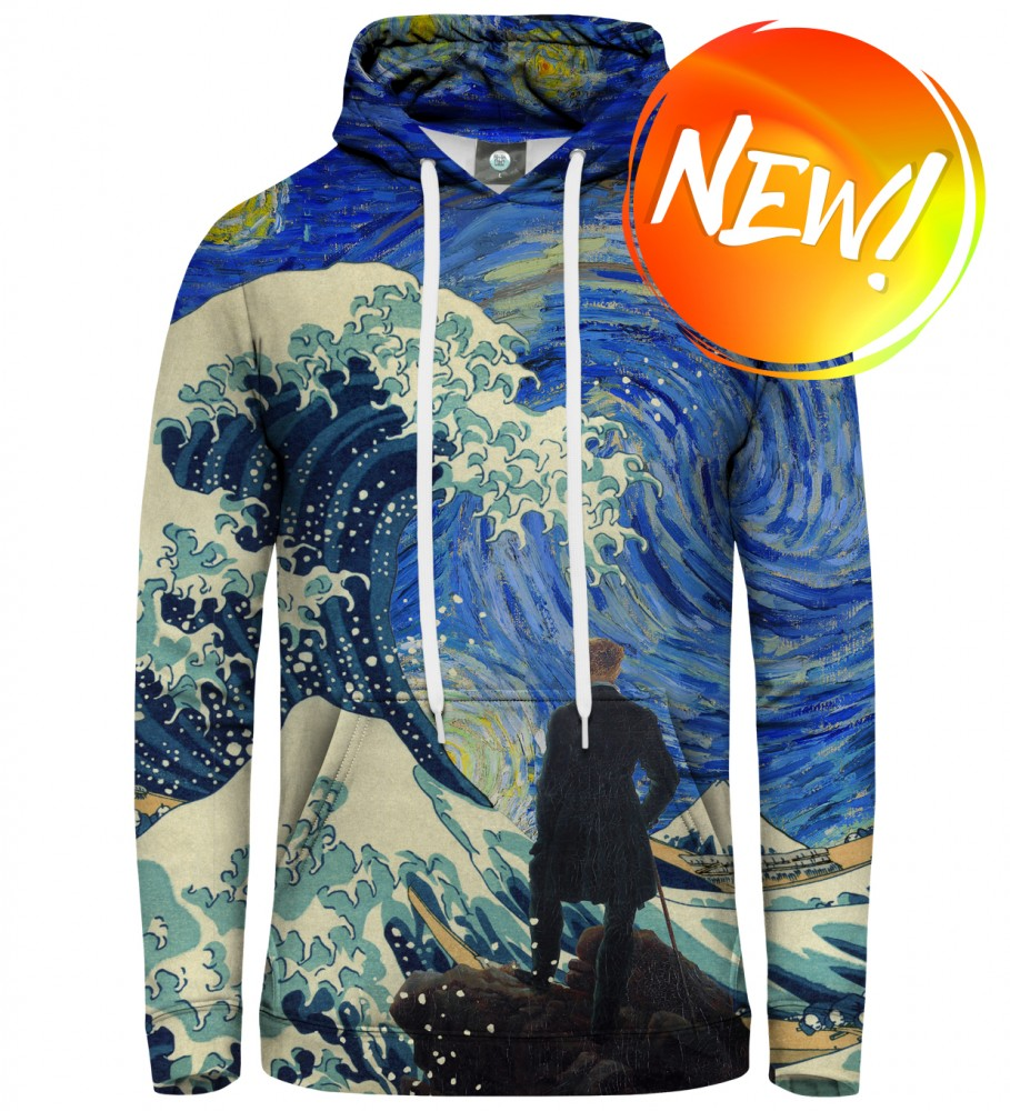 Aloha From Deer, STARRY WANDERER OF KANAGAWA HOODIE Image $i