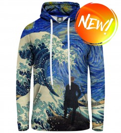 Aloha From Deer, STARRY WANDERER OF KANAGAWA HOODIE Thumbnail $i