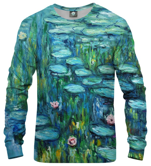 WATER LILLIES SWEATSHIRT Thumbnail 1