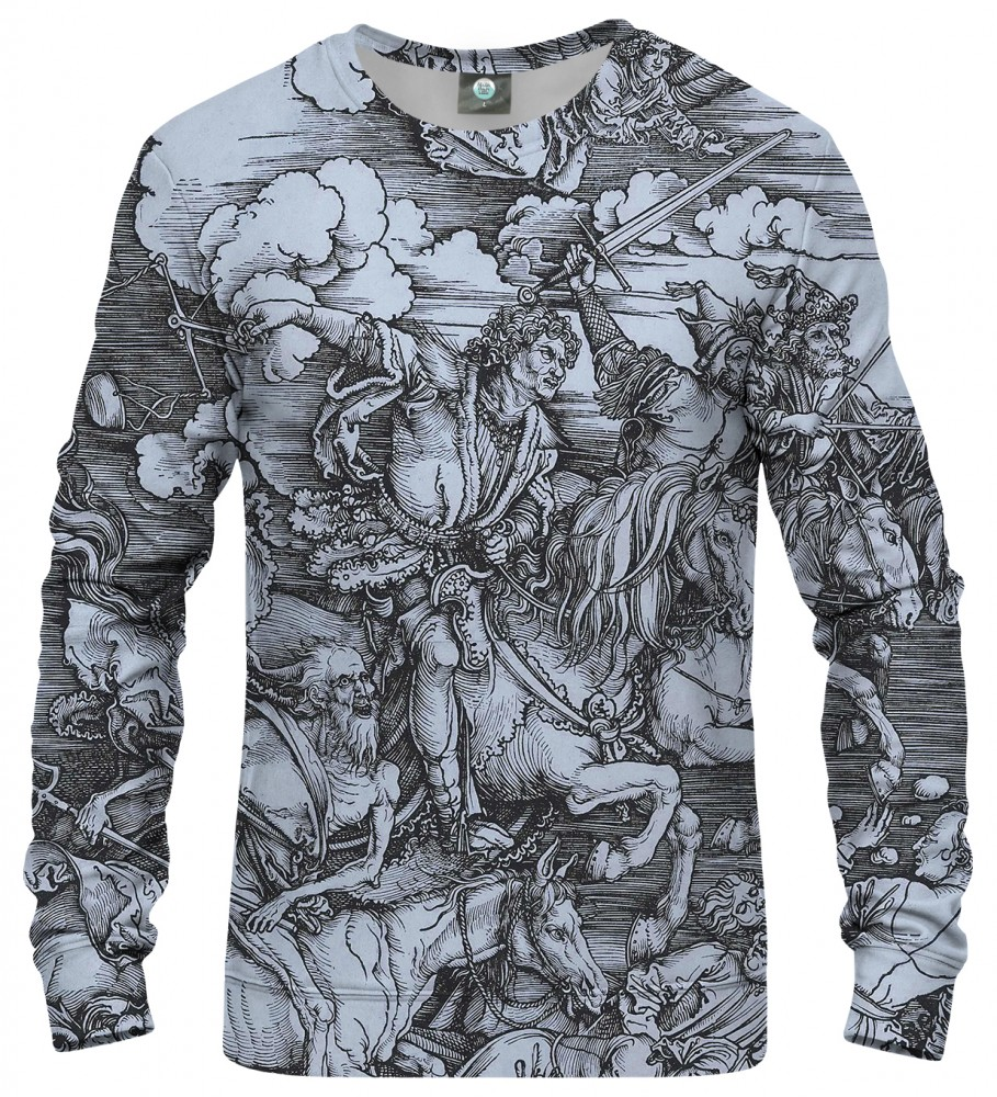 Aloha From Deer, DURER SERIES - FOUR RIDERS SWEATSHIRT Image $i