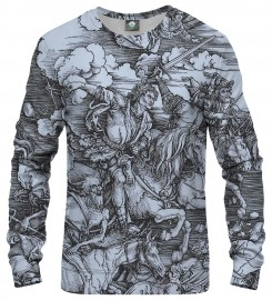 Aloha From Deer, DURER SERIES - FOUR RIDERS SWEATSHIRT Thumbnail $i