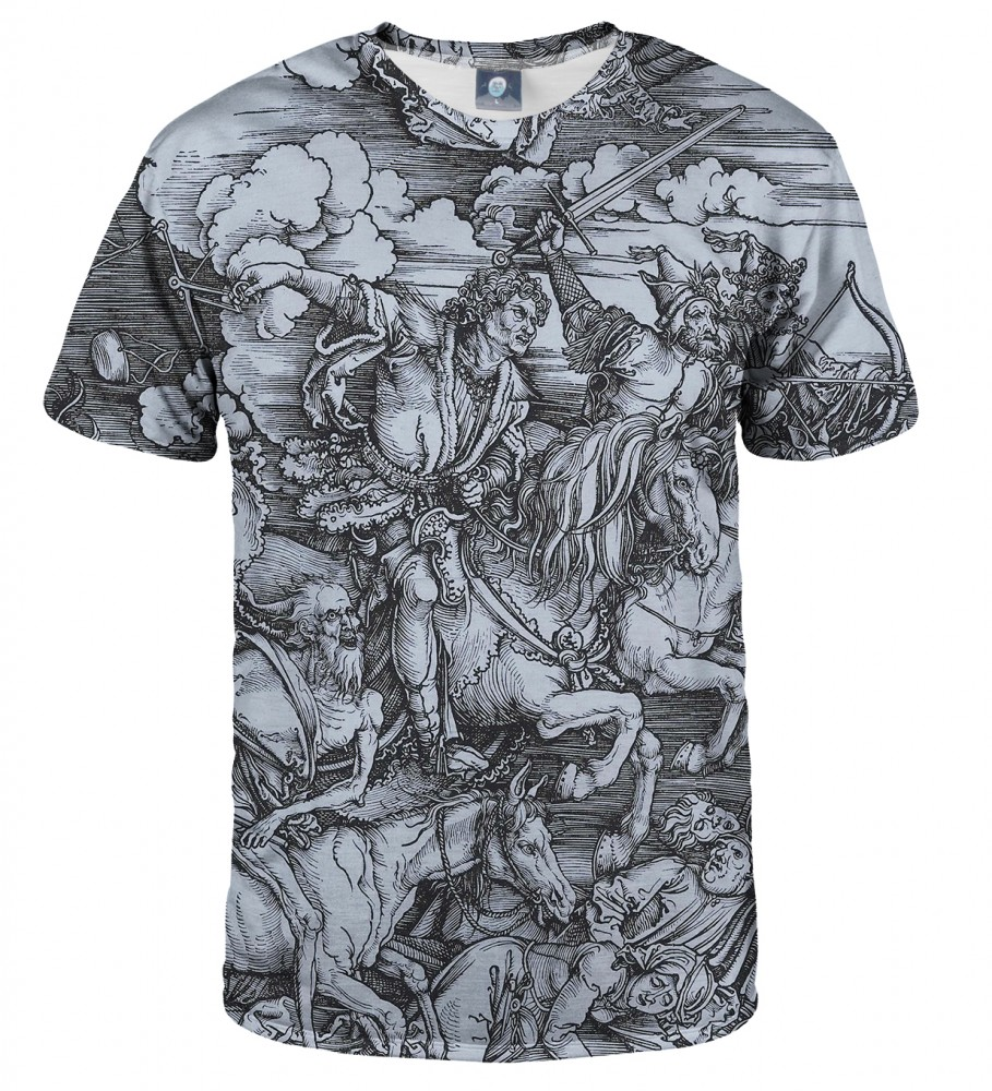 Aloha From Deer, DURER SERIES - FOUR RIDERS T-SHIRT Image $i