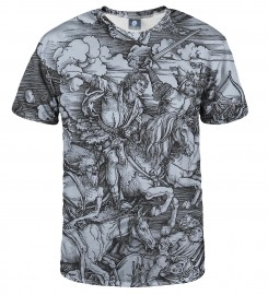 Aloha From Deer, DURER SERIES - FOUR RIDERS T-SHIRT Thumbnail $i