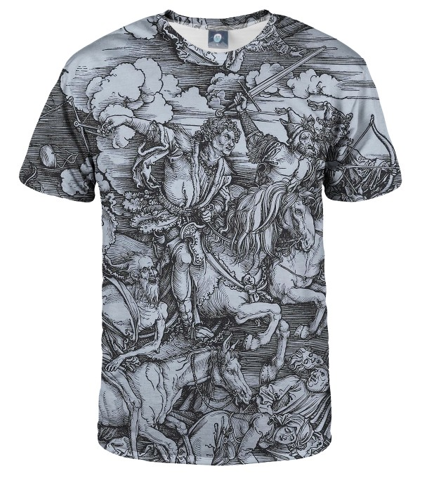 T-SHIRT DURER SERIES - FOUR RIDERS Miniatury 2