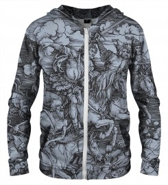 Aloha From Deer, DURER SERIES - FOUR RIDERS ZIP UP HOODIE Thumbnail $i