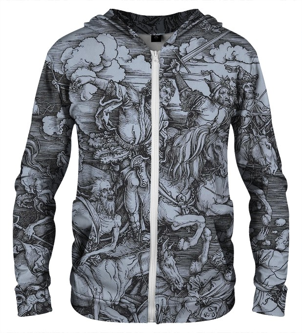 DURER SERIES - FOUR RIDERS ZIP UP HOODIE Thumbnail 1