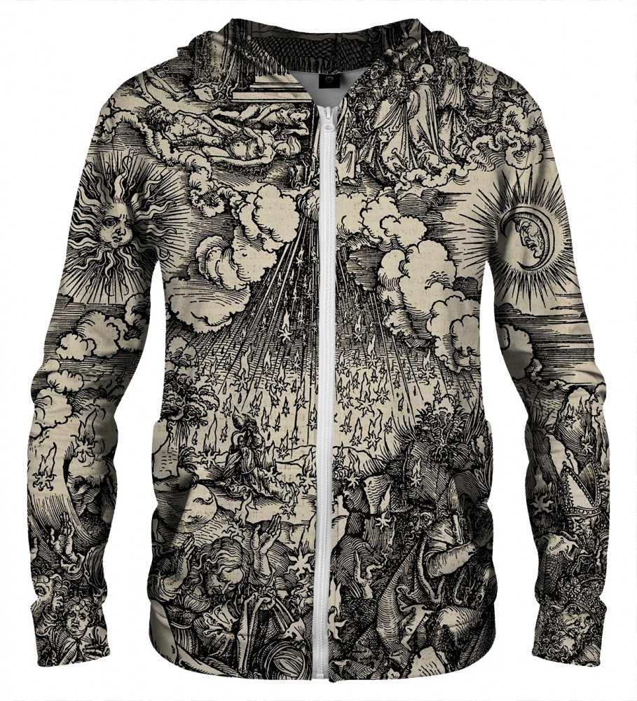 Aloha From Deer, DURER SERIES - FIFTH SEAL ZIP UP HOODIE Image $i
