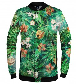 Aloha From Deer, SMOKE IT ALL BASEBALL JACKET Thumbnail $i