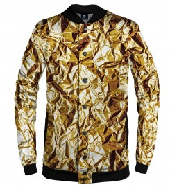 Aloha From Deer, GOLDEN BASEBALL JACKET Thumbnail $i