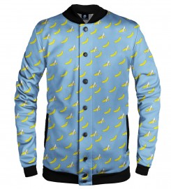 Aloha From Deer, BANANA HEAVEN BASEBALL JACKET Thumbnail $i