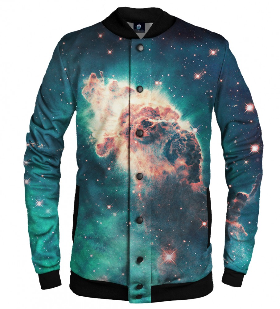 Aloha From Deer, GALAXY ONE BASEBALL JACKET Image $i