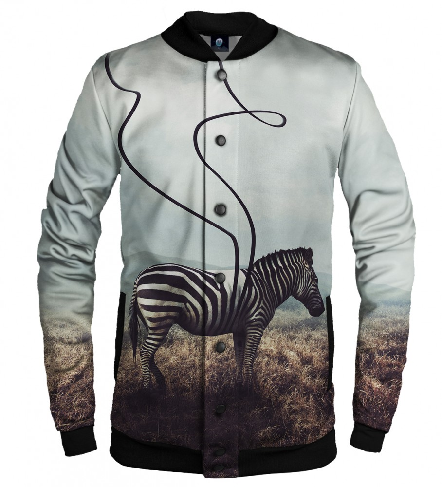 Aloha From Deer, LOST STRIPES BASEBALL JACKET Image $i