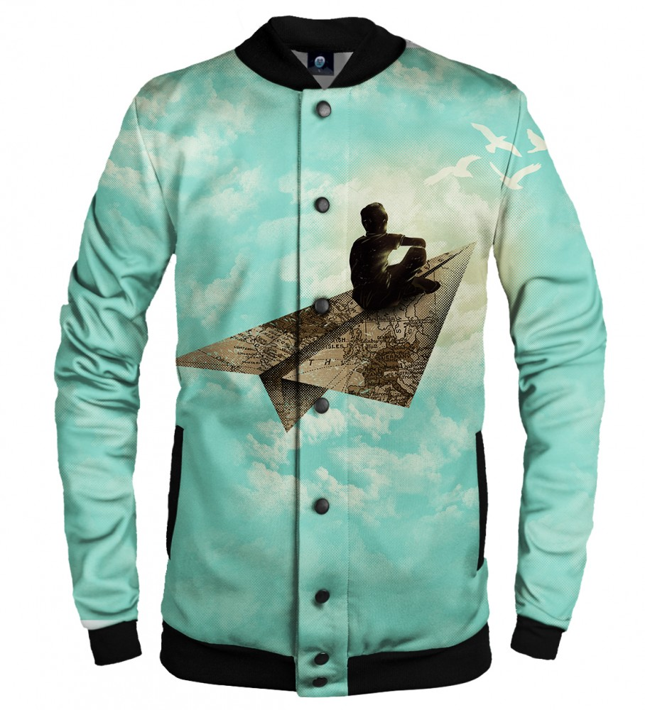 Aloha From Deer, DREAMER BASEBALL JACKET Image $i