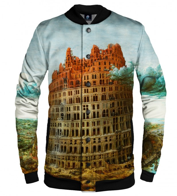 TOWER OF BABEL BASEBALL JACKET Thumbnail 1