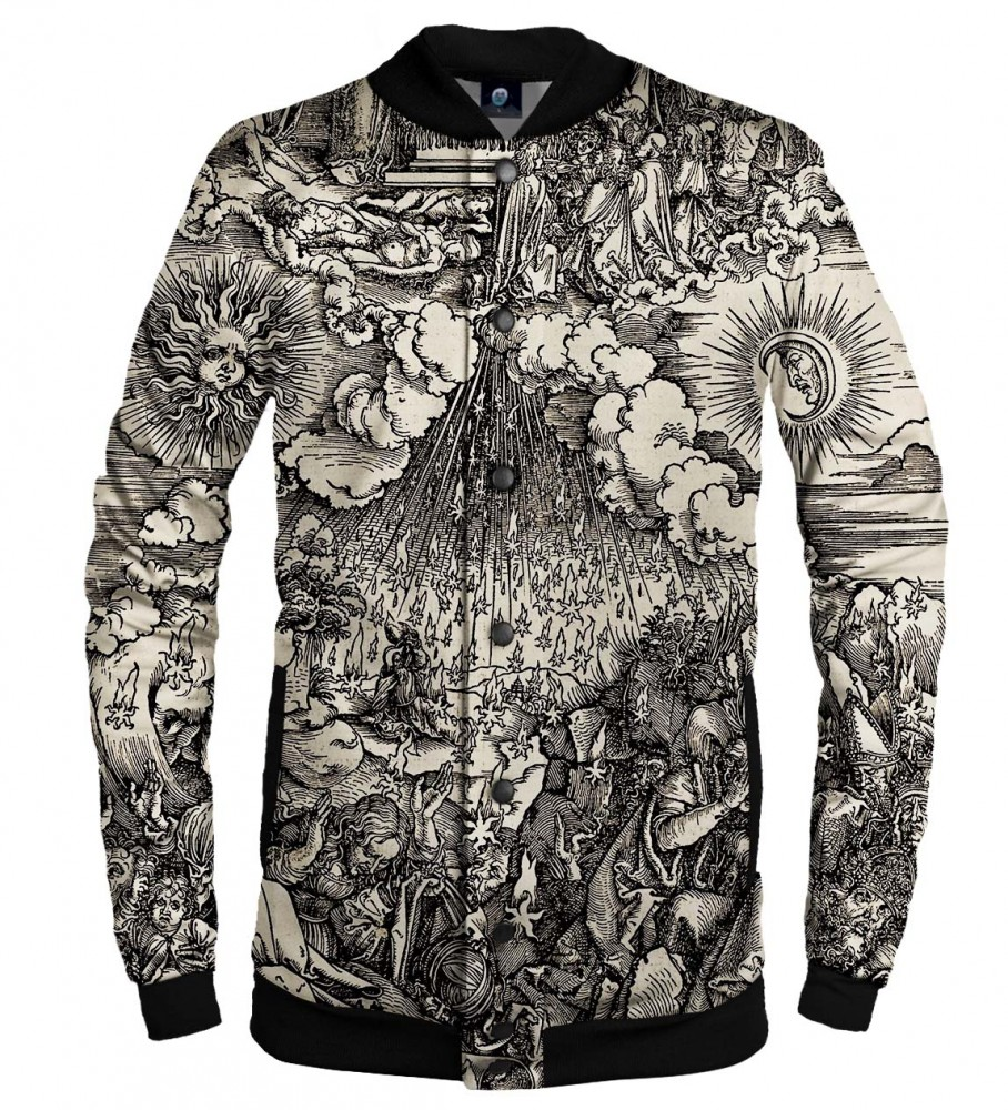 Aloha From Deer, DURER SERIES FIFTH SEAL BASEBALL JACKET Image $i