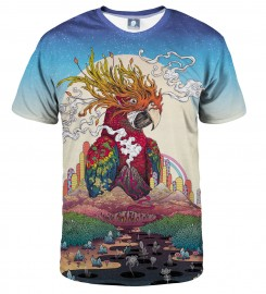 Aloha From Deer, BORDERLAND T-SHIRT Thumbnail $i