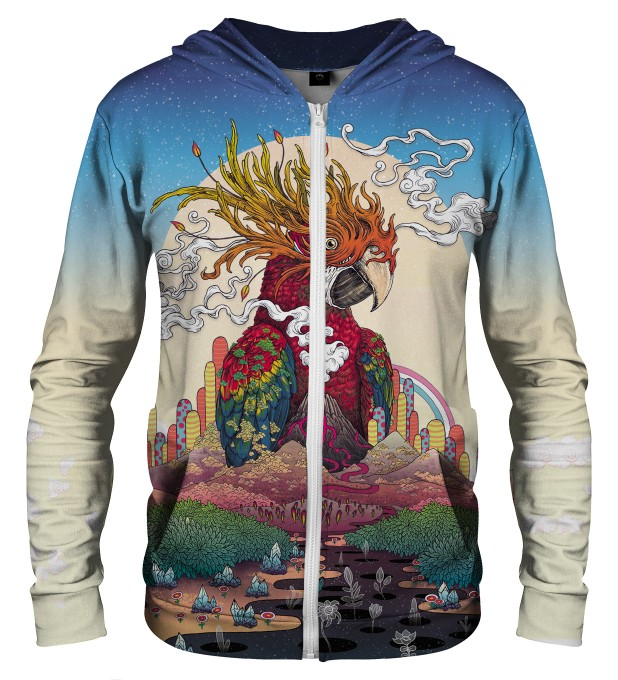 BORDERLAND ZIP UP HOODIE Thumbnail 1