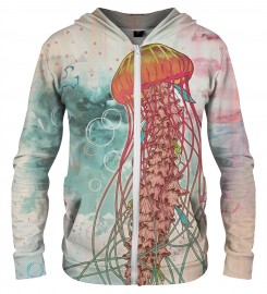 Aloha From Deer, JELLYFISH ZIP UP HOODIE Thumbnail $i