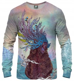 Aloha From Deer, JOURNEYING SPIRIT - BEAR SWEATSHIRT Thumbnail $i