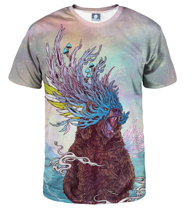 JOURNEYING SPIRIT - BEAR T-SHIRT Thumbnail 1