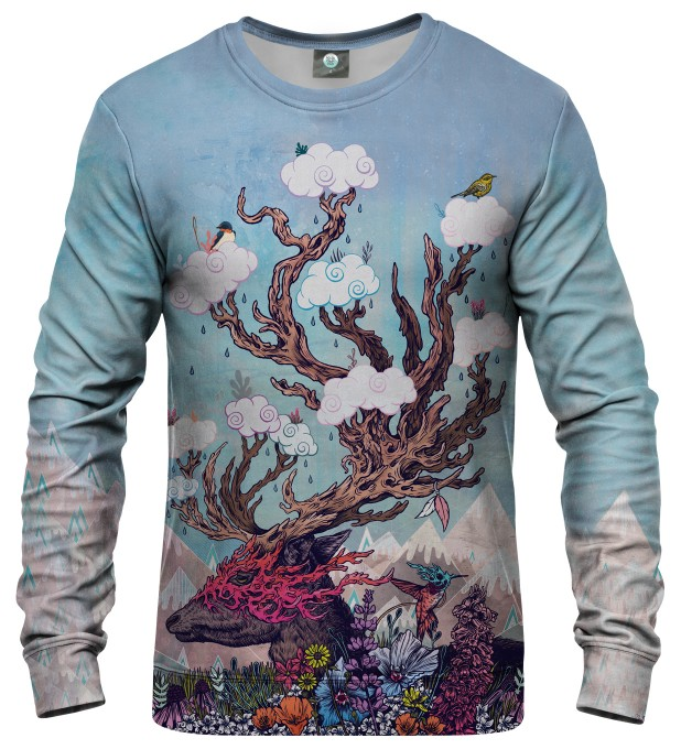 JOURNEYING SPIRIT - DEER SWEATSHIRT Thumbnail 1