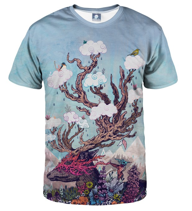 JOURNEYING SPIRIT - DEER T-SHIRT Thumbnail 1