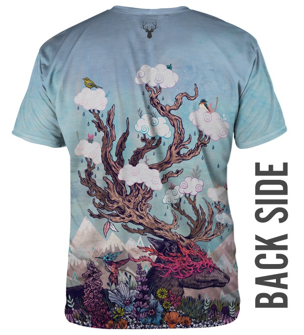 JOURNEYING SPIRIT - DEER T-SHIRT Thumbnail 2