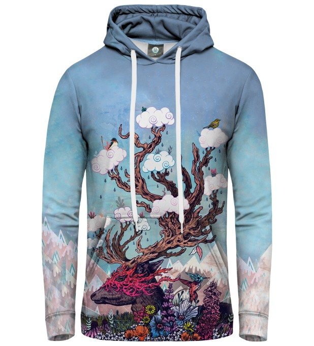 BLUZA Z KAPTUREM JOURNEYING SPIRIT - DEER Miniatury 1