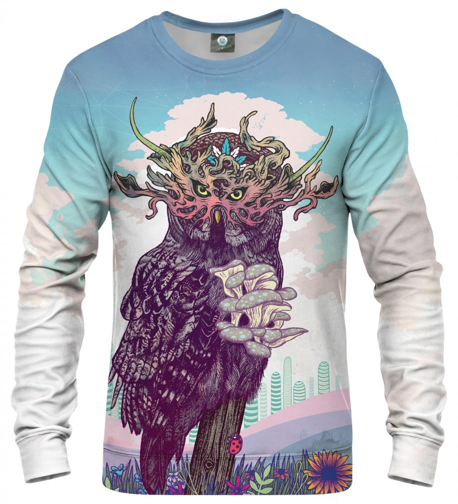 Aloha From Deer, JOURNEYING SPIRIT - OWL SWEATSHIRT Image $i