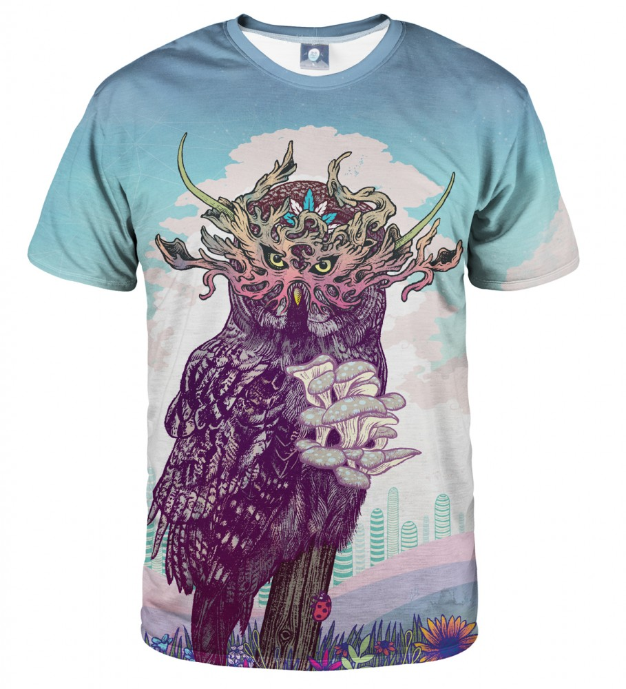 Aloha From Deer, JOURNEYING SPIRIT - OWL T-SHIRT Image $i