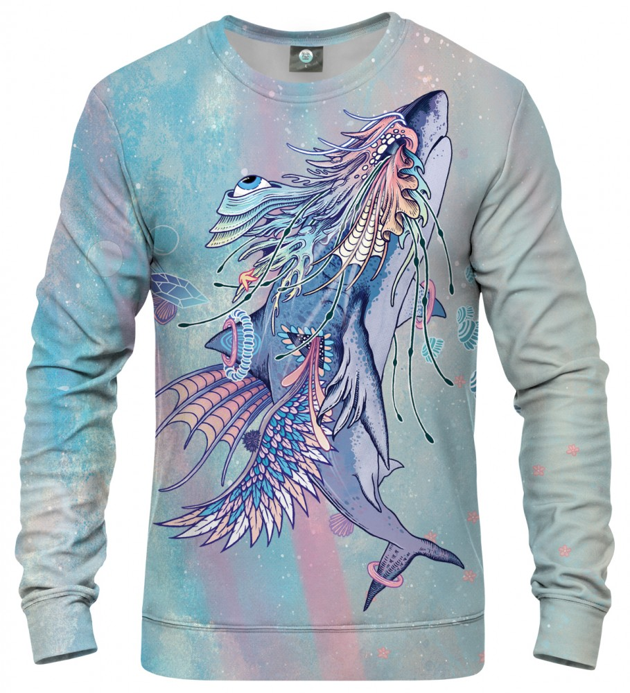 Aloha From Deer, JOURNEYING SPIRIT - SHARK SWEATSHIRT Image $i