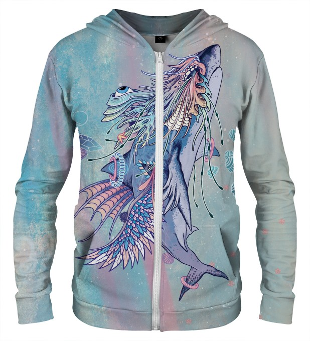 BLUZA Z ZAMKIEM JOURNEYING SPIRIT - SHARK Miniatury 1