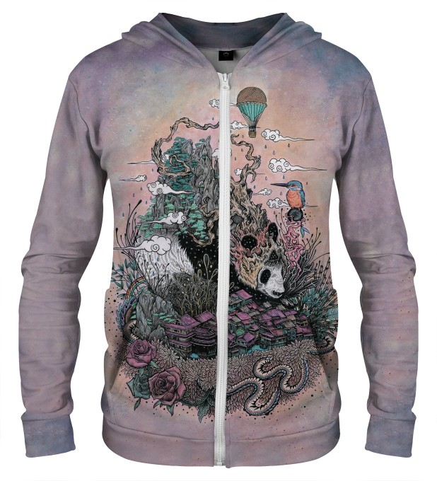 LAND OF THE SLEEPING GIANT ZIP UP HOODIE Thumbnail 1
