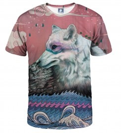 Aloha From Deer, LONE WOLF T-SHIRT Thumbnail $i