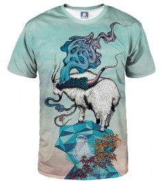 Aloha From Deer, SEEKING NEW HEIGHTS T-SHIRT Thumbnail $i