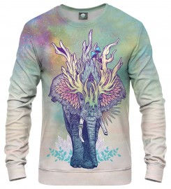 Aloha From Deer, SPIRIT ELEPHANT SWEATSHIRT Thumbnail $i
