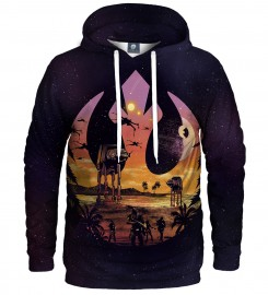 Aloha From Deer, THE RESISTANCE HOODIE Thumbnail $i
