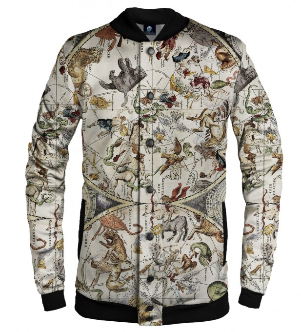 MAP OF THE SKY BASEBALL JACKET Thumbnail 1
