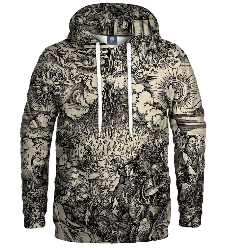Aloha From Deer, DURER SERIES - FIFTH SEAL HOODIE Image $i