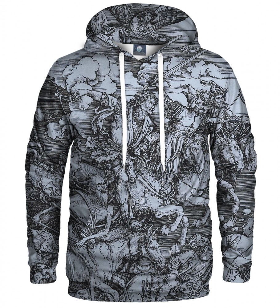 Aloha From Deer, DURER SERIES - FOUR RIDERS HOODIE Image $i