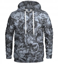Aloha From Deer, DURER SERIES - FOUR RIDERS HOODIE Thumbnail $i