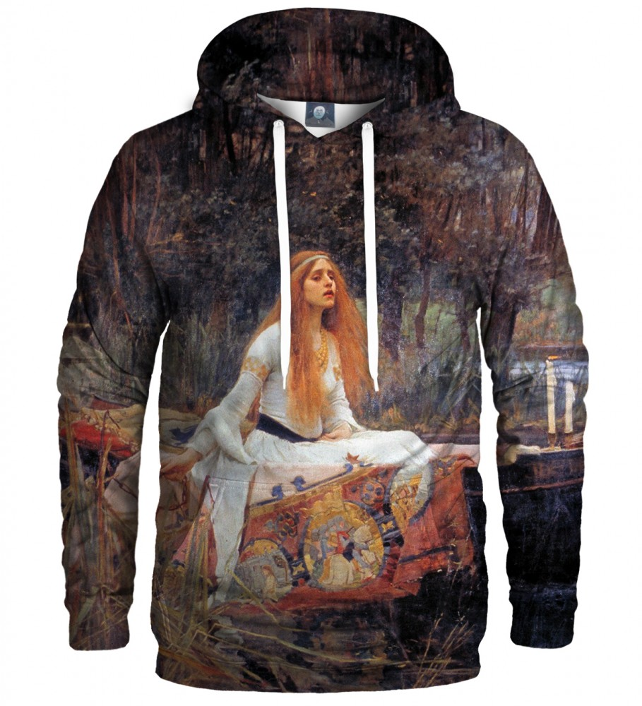 Aloha From Deer, LADY OF SHALOTT HOODIE Image $i