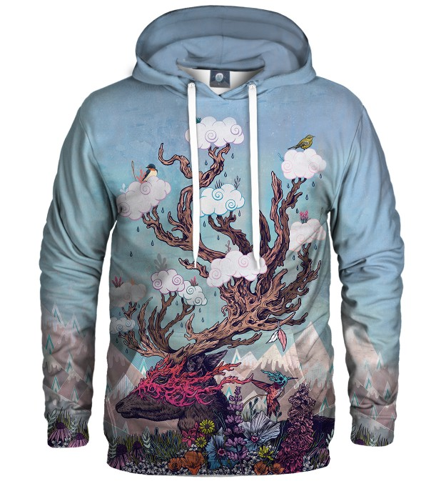 JOURNEYING SPIRIT - DEER HOODIE Thumbnail 1