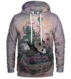 Aloha From Deer, LAND OF THE SLEEPING GIANT HOODIE Thumbnail $i