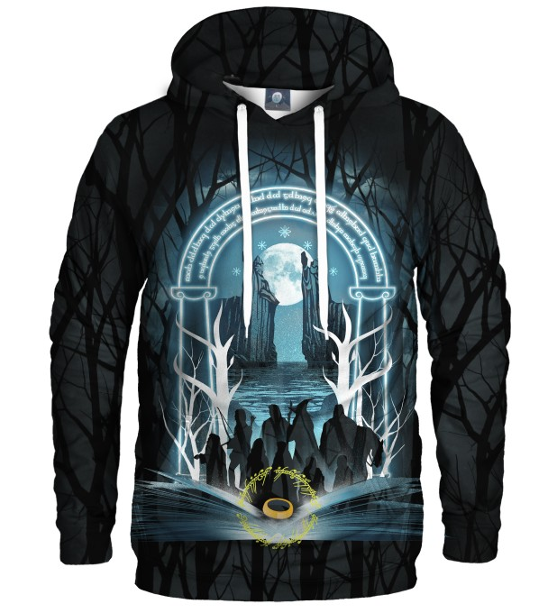 BLUZA Z KAPTUREM THE FELLOWSHIP Miniatury 1