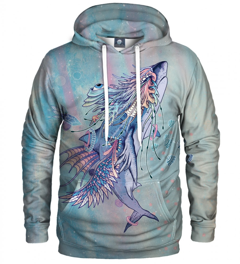 Aloha From Deer, JOURNEYING SPIRIT - SHARK HOODIE Image $i